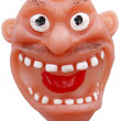 Toy with Crazy Old Man Expression — Stockfoto