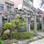 Gates at Shinto Shrine in Fukuoka Japan — Stock Photo