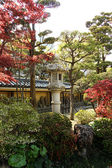 Santuário do templo xintoísta no japão fukuota — Foto Stock