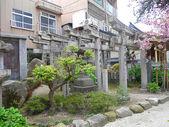 Gates no santuário xintoísta em fukuoka japão — Foto Stock