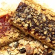 Stock Photo: Blueberry and Strawberry GranolBars