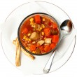 Stock Photo: Chunky Maryland Style Crab Stew