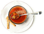 Maryland Crab Vegetable Soup — Stock Photo