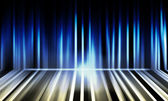 Abstract lights blue background — Stock Photo
