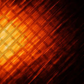 Abstract orange square — Stock Photo