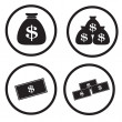 Money icon — Stock Vector