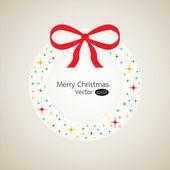 Steering wheel Merry Christmas — Stock Vector