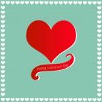 Happy Valentine's Day card — Stock Vector #18419087