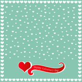 Happy Valentine's Day card — Vettoriale Stock