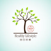 Healthy lifestyle — Stock Vector