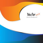 Vector background for text and message design — Stok Vektör