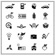 Set of Ecological Icons — Stock Vector