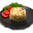 Ham Fried Rice — Stock Photo