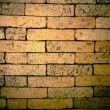 Old grunge brick wall background  — 图库照片