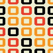 Dikişsiz retro geometrik desen — Stok Vektör