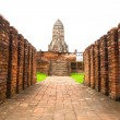Wat chaiwatthanaram, Ancient temple and monument in Thailand — Stock Photo