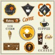 Set of bakery badges and labels — Stock Vector