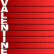 Valentine card, Vector illustration — Stock vektor #36580715