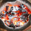 Stock Photo: Charcoal stove