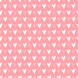 Seamless pattern with hearts. Valentines day background. Vector illustration — Stock Vector