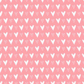 Seamless pattern with hearts. Valentines day background. Vector illustration — Stock vektor