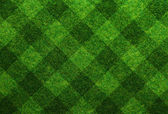 Groen gras voetbal veld achtergrond — Stockfoto