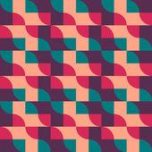 Retro vintage seamless pattern. Vector illustration — Vecteur