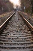Railway into the distance — Stock Photo