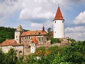 Castle Krivoklat — Stock Photo