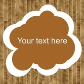 Tables wooden brown with place for text,sawmill — Stock Photo