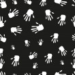 Seamless pattern of hand — Stock Photo #21903871
