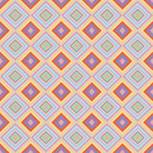 Seamless geometric pattern with rhombus — Stock Photo