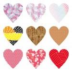 Hearts set — Stock Vector #37004935