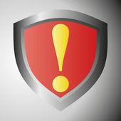 Nebezpečí varování — Stock vektor