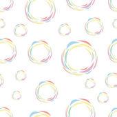 Patrones sin fisuras de los círculos de color — Vector de stock