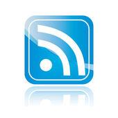 Wifi blue symbol — Stock Vector