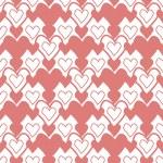 Seamless heart's pattern — Stock Photo #39211457