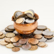 Stockfoto: Pot of money