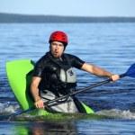 Kayak athlete — Stock Photo #18564863