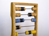 Simple abacus — Stock Photo