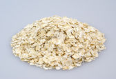 A handful of oats — Stock Photo