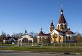Nothern orthodoxe kirche — Stockfoto