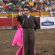 Torero en un festival taurino - Zdjcie stockowe