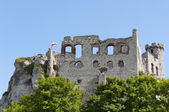 Ruins of old medieval castle — Stock Photo