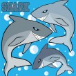 Little shark — Stock Vector #27646757