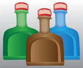 Plastic bottle soap — Stock Vector