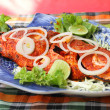 Asian stile hot spicy fish — Stock Photo #14410411