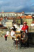 Charles Bridge in Prague, Czech Republic. — Stock Photo