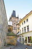 Street of old Prague, Czech republic — Stock Photo
