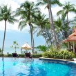 Stock Photo: Swimming pool in tropics